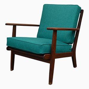Vintage Danish Teak Lounge Chair by Aage Pedersen for Getama