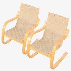 Model 406 Armchair by Alvar Aalto for Artek