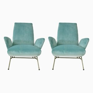 Armchairs by Nino Zoncada, 1950s, Set of 2