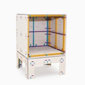 Mesita de noche Wrong Color Furniture System de Studio Minale-Maeda