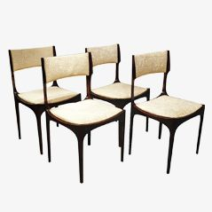 Chairs by Giuseppe Gibelli for Sormani, Set of 4