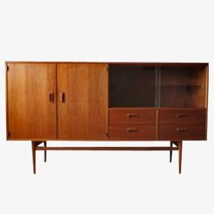 Scandinavian Walnut Sideboard from Musterring, 1950s