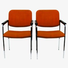 Vintage Chairs from Thonet, 1970s, Set of 2