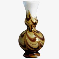 Jarrón de cristal de Murano de Carlo Moretti, años 70