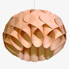 Lámpara de techo vintage de Zicoli, años 60