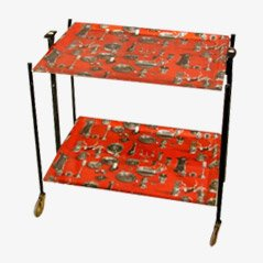 Foldable Serving Trolley, 1950s