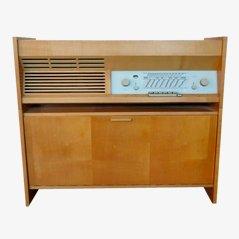 Equipo de música mono PK-G5 de Braun, años 50