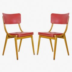 Vintage Chairs, 1950s, Set of 2