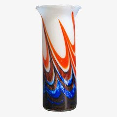Large Vintage Murano Glass Vase, 1970s