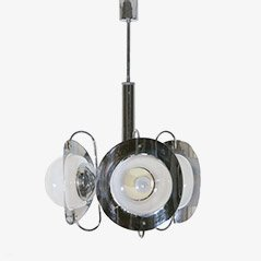 Ceiling Lamp by Mazzega, Italy, 1970s