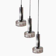 Lámpara de techo modelo P105 vintage de Staff