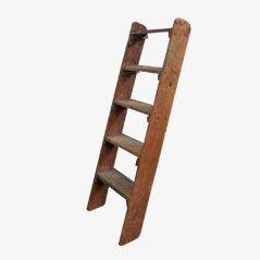 Escalera decorativa de madera, años 40