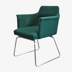 Vintage Steel Tube Chair, 1950s
