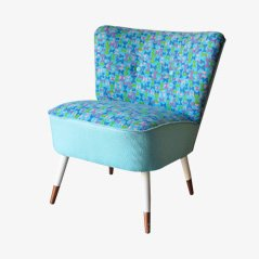 Cocktail Chair in Blue, 1950s