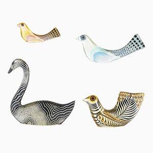 Sculptures en Lucite par Abraham Palatnik, 1960s, Set de 4