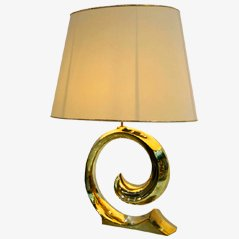 Vintage Brass Table Lamp by Pierre Cardin, circa 1980
