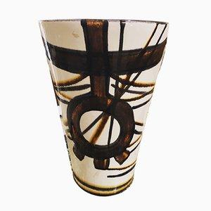 Large Mid-Century Vase from Saint Clément, 1950s