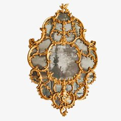 Antiker Rokokospiegel, 18. Jahrhundert