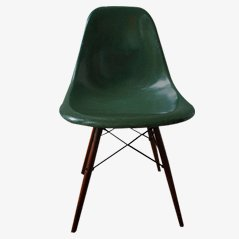 Vintage Green DSW Chair by Charles & Ray Eames for Vitra
