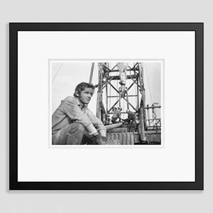 Jack Nicholson Archival Pigment Print Print Framed in Black by Bettmann