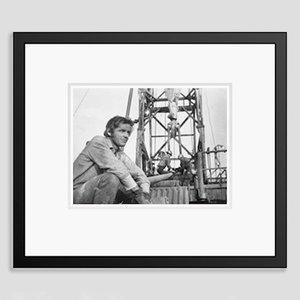Jack Nicholson Archival Pigment Print Print Framed in Black by Bettmann