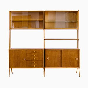 Wall Unit by František Jirák for Tatra, 1960s