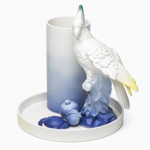 Natura Morta with Parrot by Giorgia Zanellato for Fabrica