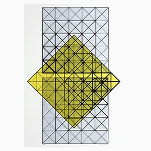 Siebdruck von Guido Zanoletti, 1973