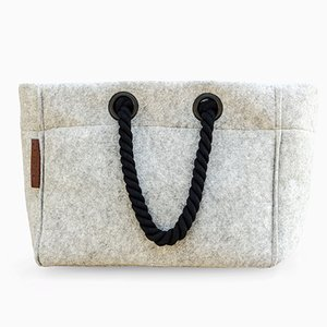 Sandy Bag White Rope by R & U Atelier