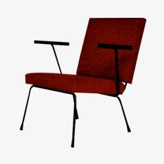 Sedia rossa di Wim Rietveld per Gispen