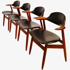 Set of 'Cowhorn' Chairs by Tijsseling