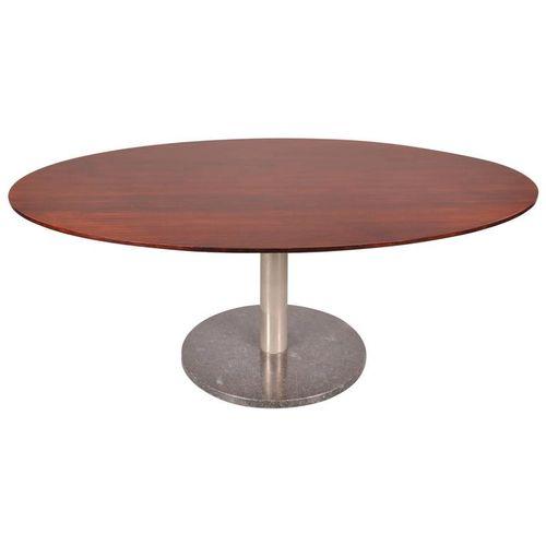 belgischer esstisch von alfred hendrickx f r belform 1960er bei pamono kaufen. Black Bedroom Furniture Sets. Home Design Ideas