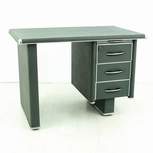bureau vintage en m tal 1950s en vente sur pamono. Black Bedroom Furniture Sets. Home Design Ideas