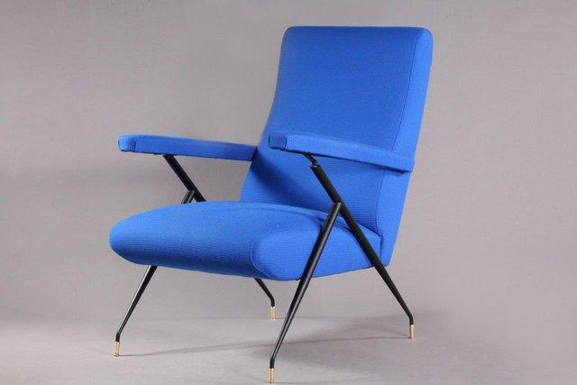 Sedie Blu Elettrico : Poltrona vintage blu elettrico italia anni 60 in vendita su pamono