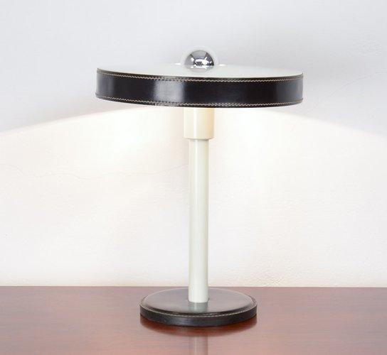 minimalistische tischlampe in schwarz wei von l kalff f r philips bei pamono kaufen. Black Bedroom Furniture Sets. Home Design Ideas