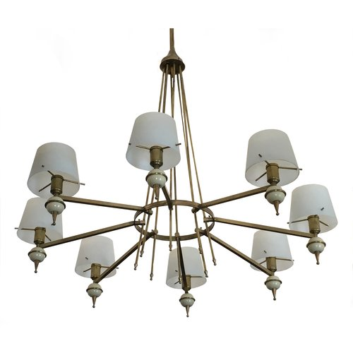 Vintage italian chandelier from stilnovo 1950s for sale at pamono aloadofball Gallery