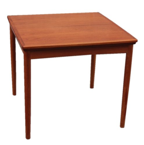 Teak Extendable Coffee Table: Danish Extendable Teak Dining Table By Poul Hundevad For