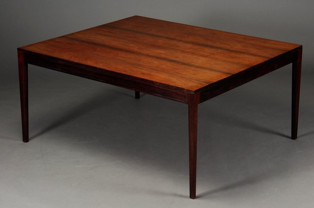 MidCentury Rosewood Diplomat Series Dining Or Conference Table By - Mid century conference table