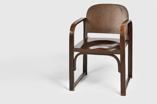 Vintage modell a 745 f bugholz stuhl von thonet bei pamono for Stuhl designklassiker vintage