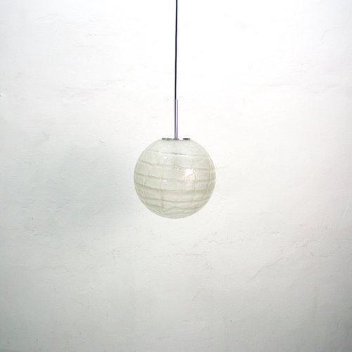 Glaskugel Hängelampe, 1970er