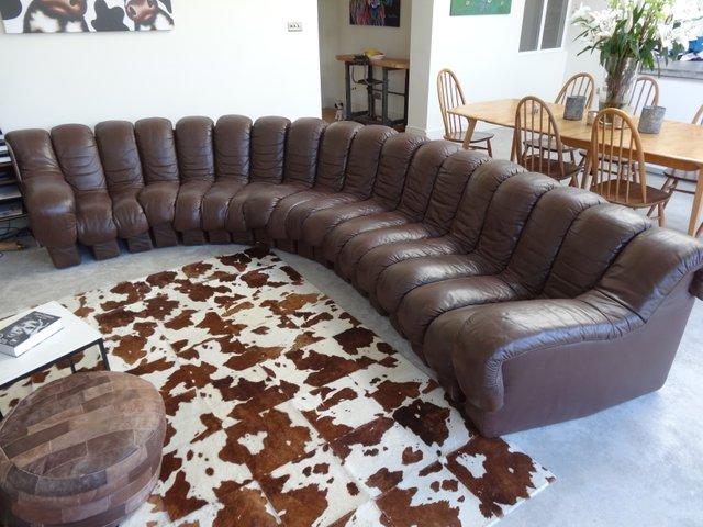 vintage ds600 sofa aus 18 teilen von berger peduzzi riva ulrich und vogt f r de sede bei. Black Bedroom Furniture Sets. Home Design Ideas