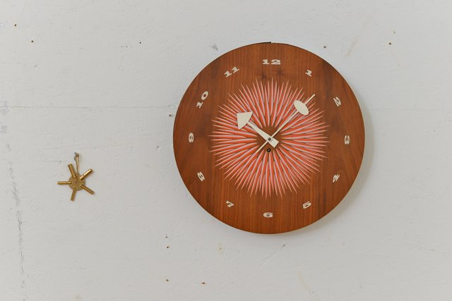 Mid Century Wall Clock By George Nelson For Howard Miller For Sale At Pamono