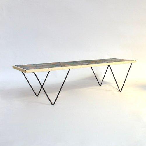 Vintage Linoleum Coffee Table For Sale At Pamono