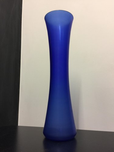 Blue Murano Glass Vase From Salviati For Sale At Pamono
