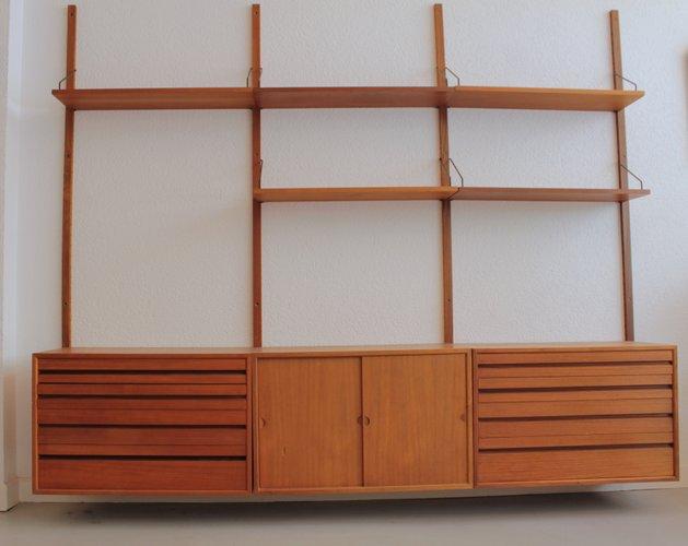 Unit di mensole da parete in teak di poul cadovius per cado anni 39 60 in vendita su pamono - Mobili in teak anni 60 ...