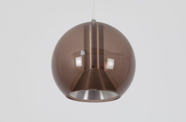 Vintage Rauchglas Kugel Lampe Von Frank Ligtelijn Für Raak Bei Pamono Kaufen