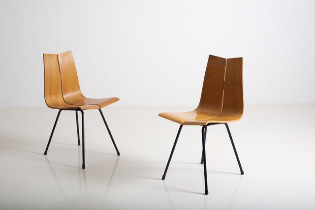 vintage ga stuhl von hans bellmann f r horgen glarus bei pamono kaufen. Black Bedroom Furniture Sets. Home Design Ideas
