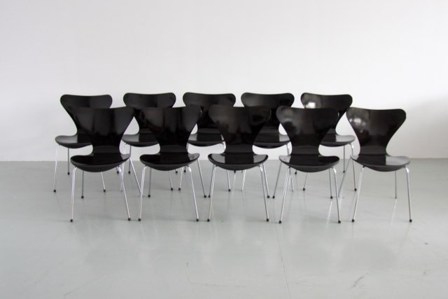 Fritz Hansen Egg Chair Prijs.3107 Series Butterfly Chair By Arne Jacobsen For Fritz Hansen
