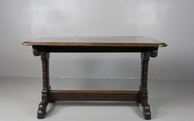 table de salle manger victorienne style gothique en chne 1