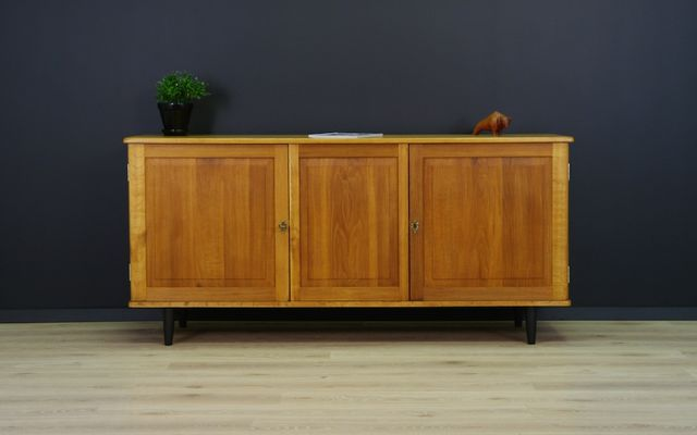 Mid Century Oak Sideboard For Sale At Pamono